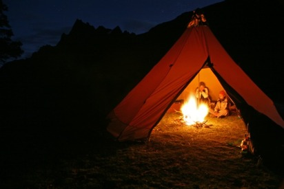 tent-secluded-night