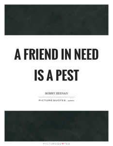 friend in need
