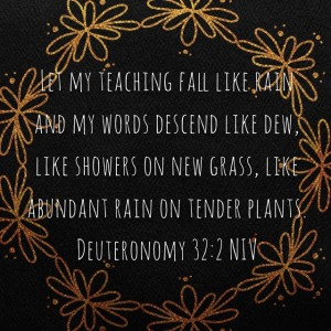 teaching like rain
