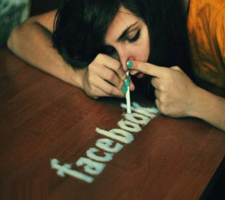 facebook cocaine