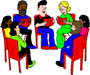 discussion-clipart-group-of-readers-hi