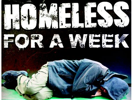 homeless for a week
