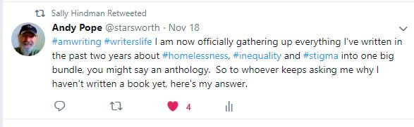 Sally Hindman RT of Book Announcement
